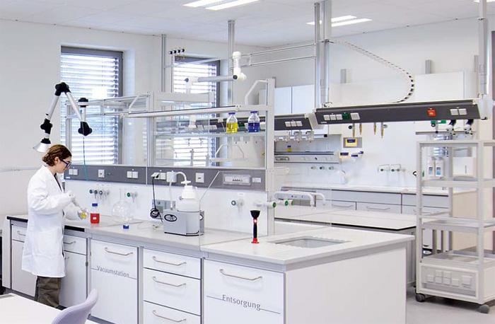 Исследования на лабораторной мебели
